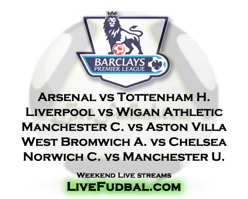 Premier League matches this weekend