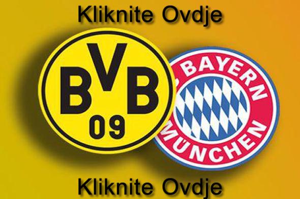 prenos utakmice borussia dortmund bayern munchen 04 05 2013 livefudbal.com