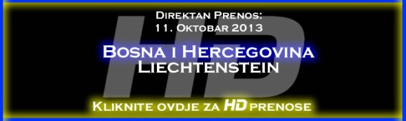 Direktan Prenos Utakmice Bosna i Hercegovina Lihtenstajn Uzivo