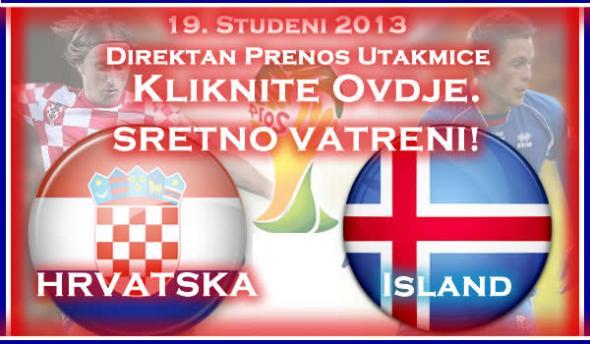 Hrvatska Island Direktan Prenos Utakmice