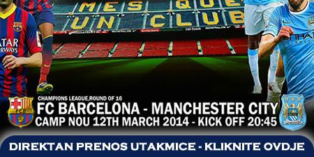 Direktan Prijenos Utakmice Barcelona Manchester City