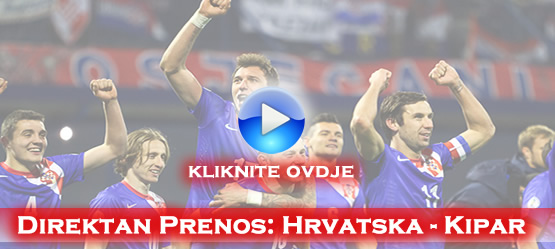 direktan prenos utakmice Hrvatska Kipar