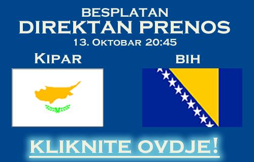 Kipar Bosna i Hercegovina - Direktan Prenos - Cyprus BiH Bosnia - Uživo - Besplatno